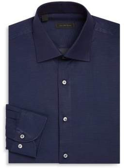 Saks Fifth Avenue COLLECTION Regular-Fit Dot Print Dress Shirt