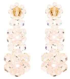 Simone Rocha Crystal-embellished earrings