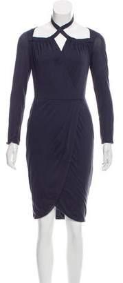 3.1 Phillip Lim Long Sleeve Knee-Length Dress