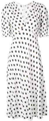 Diane von Furstenberg printed empire line dress
