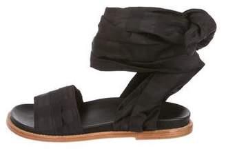 Marques Almeida Marques' Almeida Leather Slide Sandals