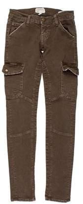 Current/Elliott Low-Rise Skinny-Leg Jeans