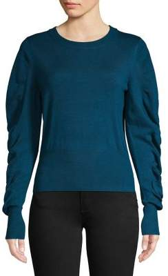 Vero Moda Ruched Drapilo Knit Sweater