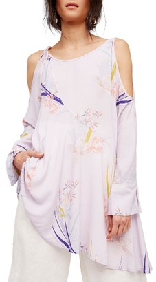 Women's Free People Clear Skies Cold Shoulder Tunic $108 thestylecure.com