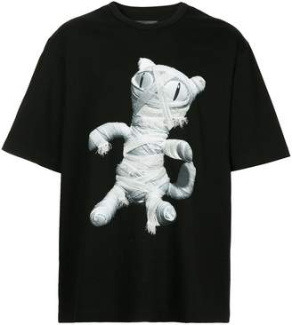 Juun.J cat print T-shirt
