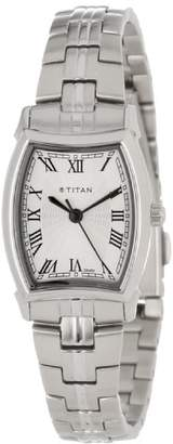 Titan Women's 9858SM01 Work Wear Classic Watch