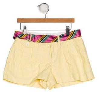 Ralph Lauren Girls' Three Pocket Shorts