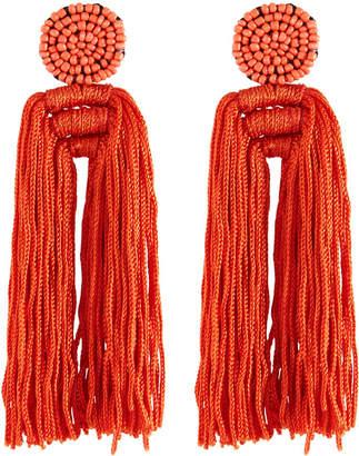 Panacea Double Tassel Earrings