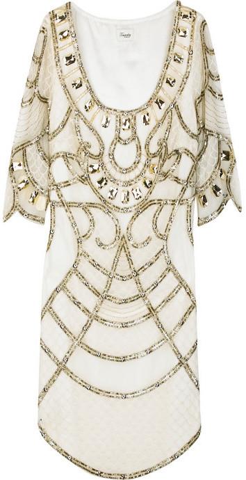 Temperley London Sequin-embellished top