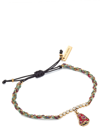 Marc Jacobs Mushroom Friendship Bracelet $45 thestylecure.com