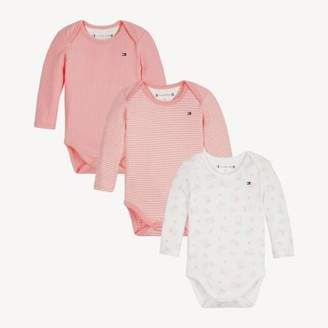 Tommy Hilfiger 3-Pack Baby Bodysuits Gift Box