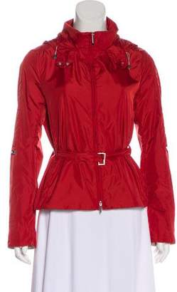 Max Mara 'S Lightweight Hooded Jacket