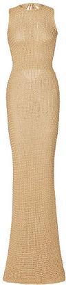 Ralph Lauren Hand-Knit Silk Gown $1,550 thestylecure.com