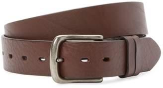 Will Leather Goods Men's Double Keeper Buckle Belt