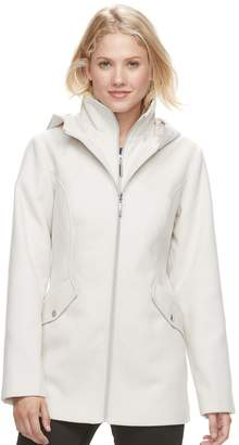 Details Women's Hooded Bib Inset Jacket