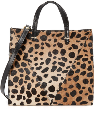 Clare V. Petite Haircalf Simple Tote $325 thestylecure.com