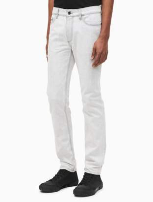 Calvin Klein skinny fit stained sand jeans