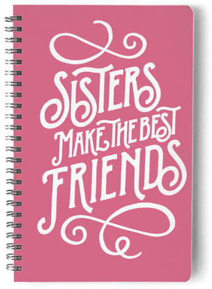 Best Sister Self-Launch Notebook