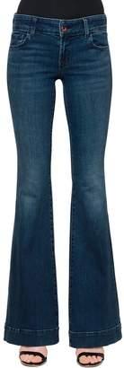 J Brand Low Rise Love Story Flare Denim Jeans