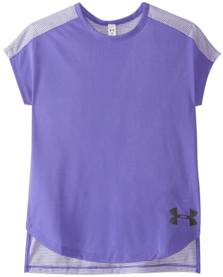Under Armour Girls' Threadborne Play Up Tee 8161577