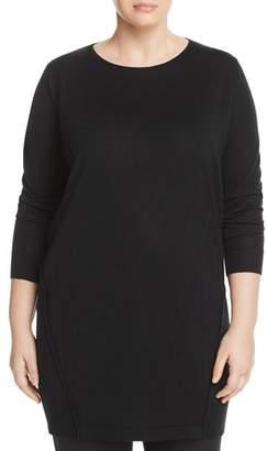 Marina Rinaldi Galletto Wool-Blend Knit Dress