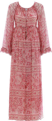 Zimmermann Castile Flared Sleeve Dress