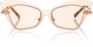 Karen Walker Mrs Brill Cat Eye Acetate Sunglasses