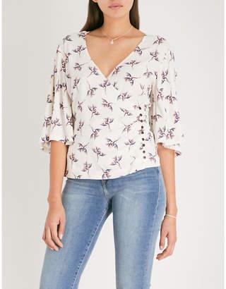 BA&SH Ferdy crepe blouse