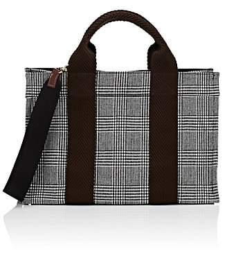 Rue de Verneuil Women's Wool Flannel Mini Tote Bag - Navy
