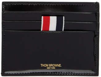 Thom Browne Black Hector Stud Card Holder
