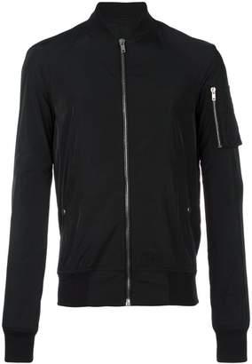 Rick Owens raglan bomber jacket