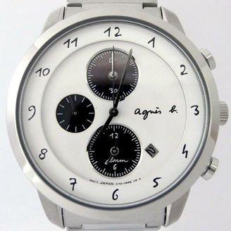 agnès b. (アニエス ベー) - アニエスベー agnesb マルチェロ クロノグラフ ソーラー FBRD975 [国内正規品] メンズ 腕時計 時計