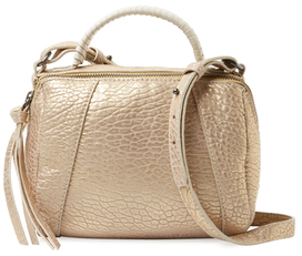Turner Micro Leather Duffel Satchel $248 thestylecure.com