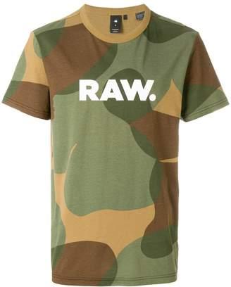 G Star G-Star camouflage logo T-shirt