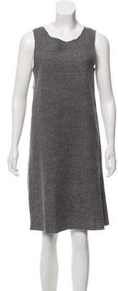 Hache Wool Shift Dress