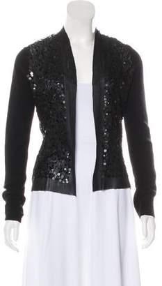 Magaschoni Cashmere Embellished Cardigan