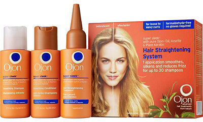 Ojon Super Sleek Hair Straightening Treatment Kit