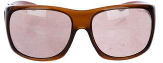 Tom Ford Oversize Wayfarer Tinted Sunglasses