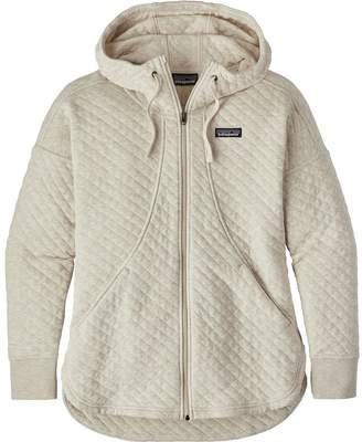Patagonia Organic Cotton Quilt Full-Zip Hoodie - Women's