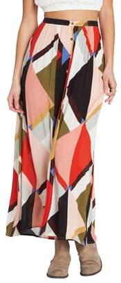 Billabong Honey Money Maxi Skirt