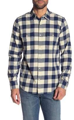 Lucky Brand Clean Buffalo Plaid Classic Fit Shirt