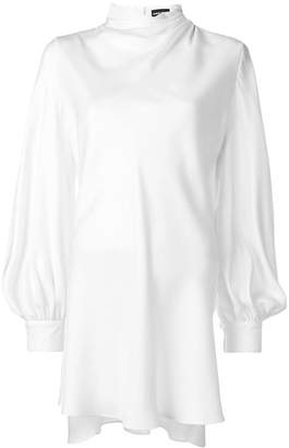 Giorgio Armani long-sleeve oversized blouse