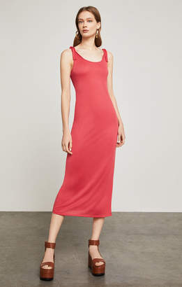 BCBGMAXAZRIA Sleeveless Tie-Strap Maxi Dress
