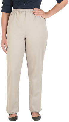 Chic Womens High Waisted Straight Pull-On Scooter Pants-Misses Short