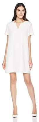 Savoir Faire Dresses Women's Short Sleeve V-Neck Dress