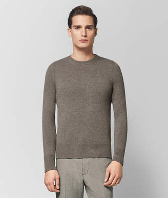 Bottega Veneta DARK CEMENT CASHMERE SWEATER