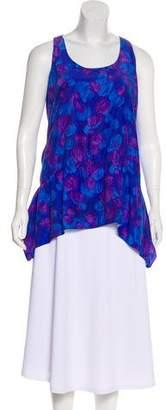 Thakoon Patterned Sleeveless Tunic