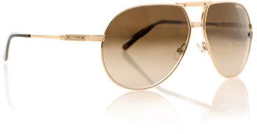 Carrera Gold-metal aviator sunglasses