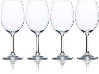 Mikasa Laura Set of 4 Crystal White Wine Glasses