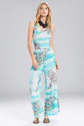 Natori Jeepney and Map Jumpsuit